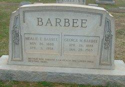 Nealie E <i>Yow</i> Barbee