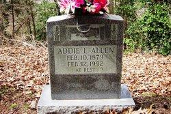 Addie L Allen