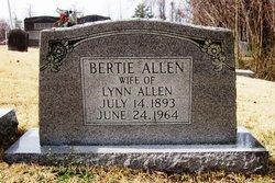 Alberta Bertie <i>Allen</i> Allen