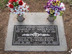 Harold G Anderson