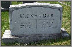 Arlie R. <i>Cox</i> Alexander