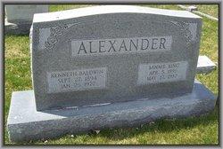Minnie Lewis <i>King</i> Alexander