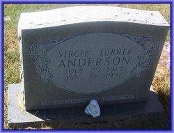 Virgie <i>Turner</i> Anderson