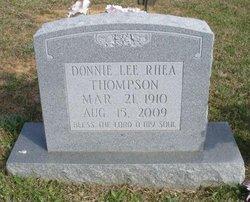 Donnie Lee <i>Boatner</i> Thompson