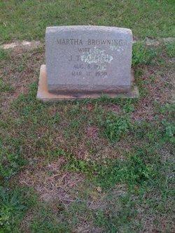 Martha Mattie <i>Browning</i> Parrish