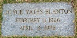 Mrs Frances Joyce <i>Yates</i> Blanton