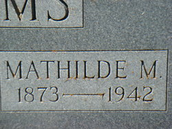 Mathilda <i>Stautzenberger</i> Adams