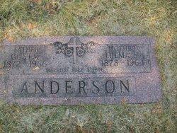 Hilma Sofia <i>Peterson</i> Anderson