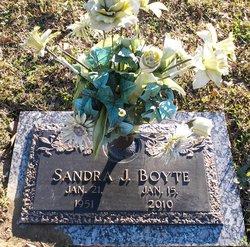 Sandra J <i>Shores</i> Boyte
