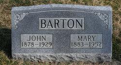Mary <i>Cox</i> Barton