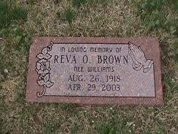 Reva O'Neal <i>Williams</i> Brown