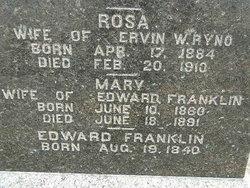 Mary May <i>Oram</i> Franklin
