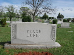 Mary Elizabeth Bessie <i>Peach</i> Jones