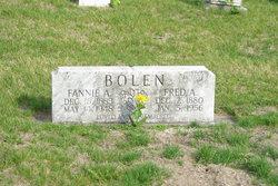 Fannie Alberta <i>Elliott</i> Bolen