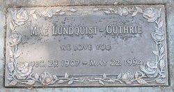 Mattie Mae Elizabeth <i>Pennington</i> Lundquist-Guthrie