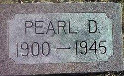 Pearl D Allison