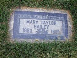 Mary <i>Taylor</i> Bailey