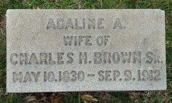 Adaline A Brown