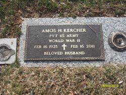 Pvt Amos H. Kercher