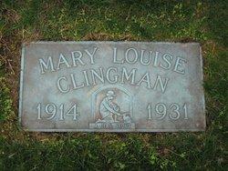 Mary Louise Clingman