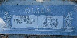 Gilbert E Gesley Olsen