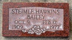 Steimle <i>Hawkins</i> Bailey