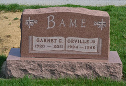 Garnet C <i>Snyder Bame</i> Ricker