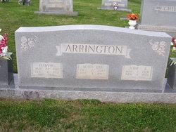 Mary Ida <i>Gordon</i> Arrington