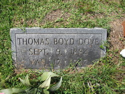 Thomas Boyd Dove
