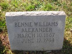 Bennie <i>Williams</i> Alexander