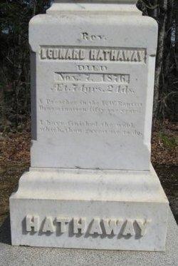 Rev Leonard Hathaway