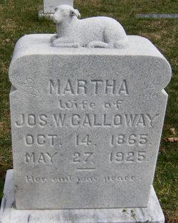 Martha <i>Greer</i> Calloway