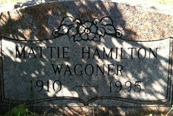 Mattie Lee Hamilton <i>Nimmo</i> Wagoner