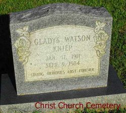 Gladys <i>Watson</i> Kniep