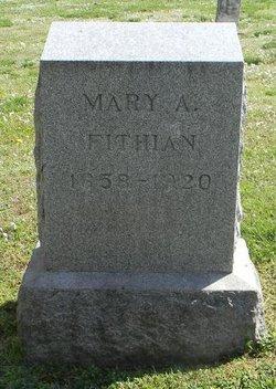 Mary A <i>Martin</i> Fithian