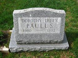 Dorothy <i>Truex</i> Paulus