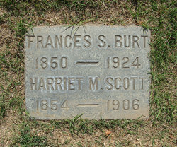 Frances Electra Fannie <i>Scott</i> Burt