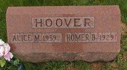 Alice May <i>Morrison</i> Hoover
