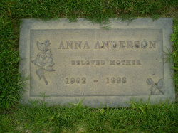 Anna <i>Maager</i> Anderson