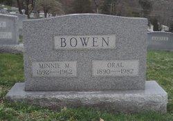 Minnie Maude <i>Barker</i> Bowen