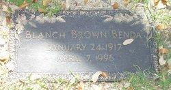 Blanch <i>Brown</i> Benda
