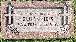Gladys Caroline <i>Snyder</i> Deci Malone Sikes