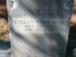 Evelyn <i>Vann</i> Bell
