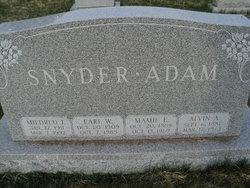 Alvin A Adam