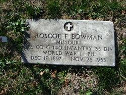 Corp Roscoe Francis Bowman