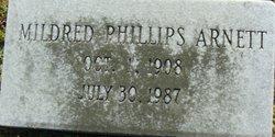 Mildred <i>Phillips</i> Arnett