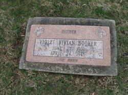 Violet Vivian <i>Cramer</i> Booker