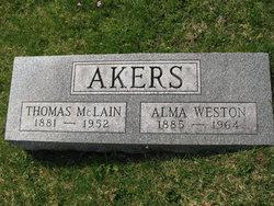 Alma Weston Akers
