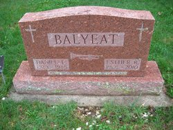 Esther R. <i>Miller</i> Balyeat