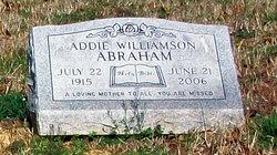 Addie Williamson Abraham